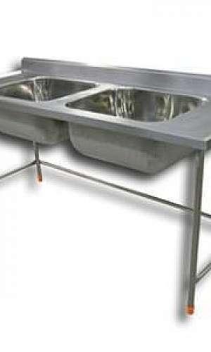Pia de cozinha industrial inox preço