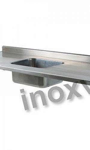 Pia inox para cozinha industrial