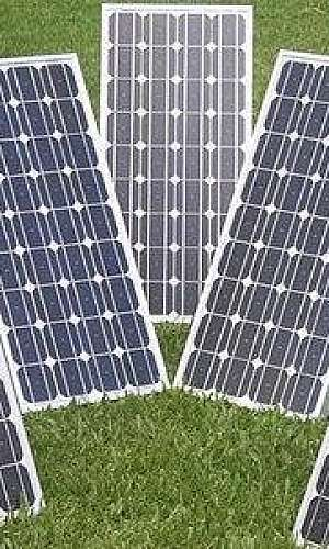 Placa solar industrial